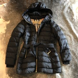 83ceeb567 Burberry limehouse quilted downpuffer coat